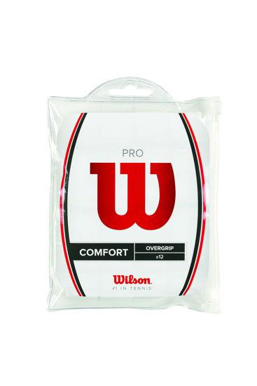 Wilson Overgrip Pro 12PK Beyaz (WRZ4016WH). ürün görseli