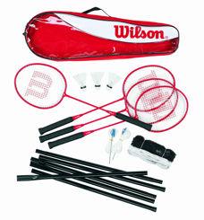 Resim Wilson Badminton Seti Tour Stl Poles 4 PC KIT 3 (WRT8444003)