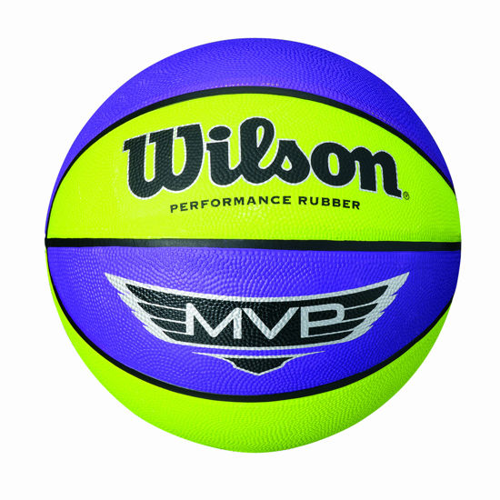 Wilson Basketbol Topu Mvp Mini Rubber  PRLI (WTB9067XB03). ürün görseli