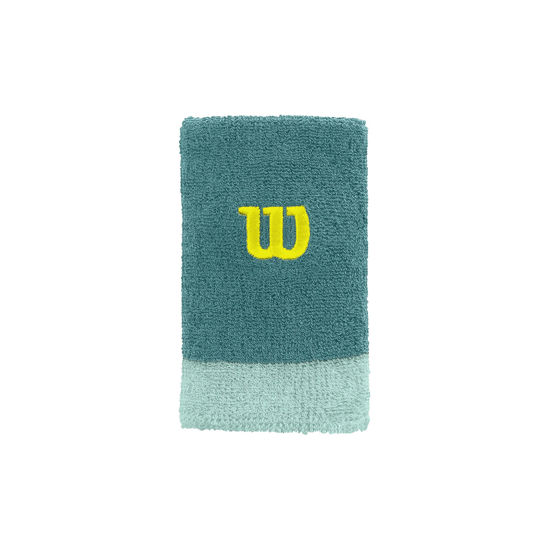 Wilson Ter Bandı Bilek Extra Wide Wristband Yeşil (WRA733509). ürün görseli