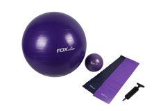 Resim Fox Fitness Anti Selülit Pilates Seti Mor