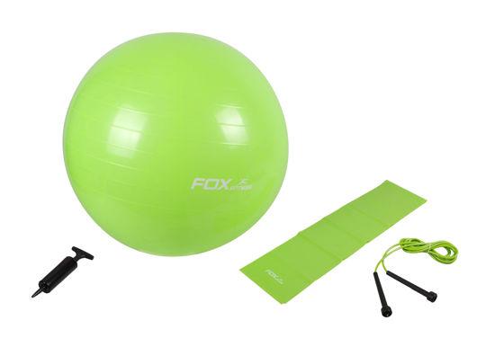 Fox Fitness Energy Pilates Seti Yeşil. ürün görseli