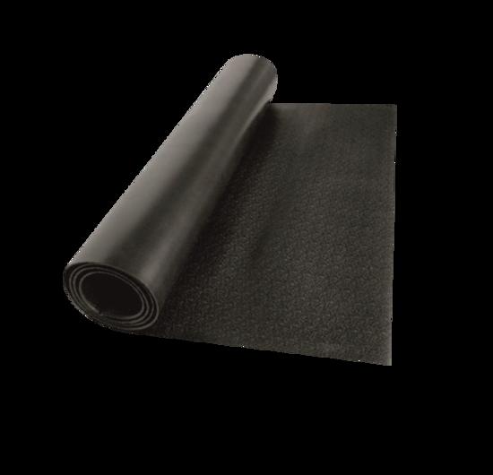 Valeo Koşu Bandı Minderi Mat Pvc Siyah ( 200x 92.4 x 0.4cm ). ürün görseli