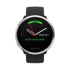 Resim Polar Ignite Gps ve Bilekten Kalp Atış Hızı Ölçüm Özellikli Fitness Saati  Siyah/Gümüş M/L