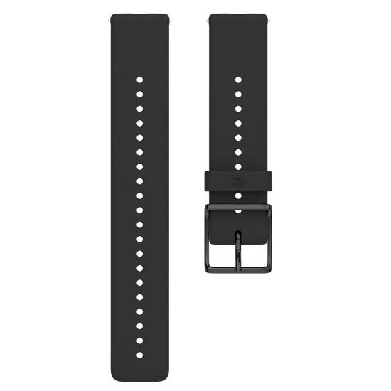 Polar Ignite Silikon Bileklik Siyah/Siyah Small. ürün görseli