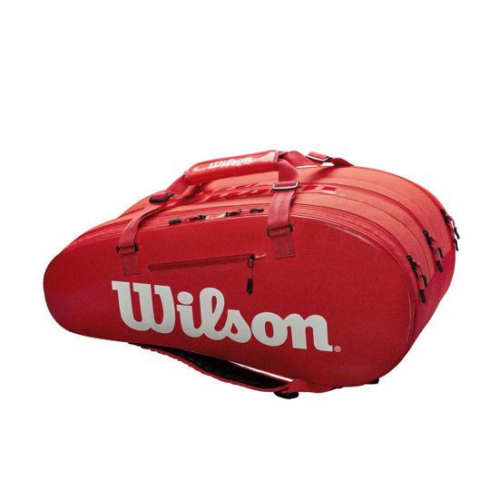 Wilson Çanta Super Tour 3 Bölmeli Kırmızı WRZ840815. ürün görseli