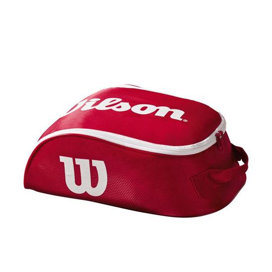 Wilson Ayakkabı Çantası Tour IV Kırmızı/Beyaz WRZ847887. ürün görseli