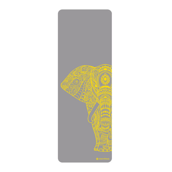 Merrithew Health & Fitness Mat – Pilates & Yoga –Elephant (gray)   (ST-06261). ürün görseli