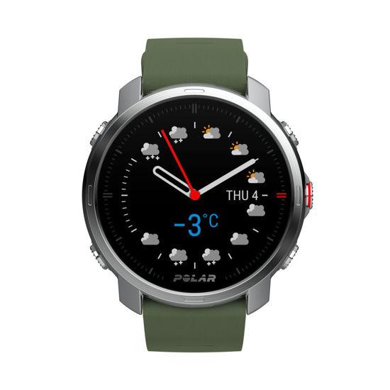Polar Grit X GPS'li Outdoor Çoklu Spor Saati  Yeşil M/L. ürün görseli