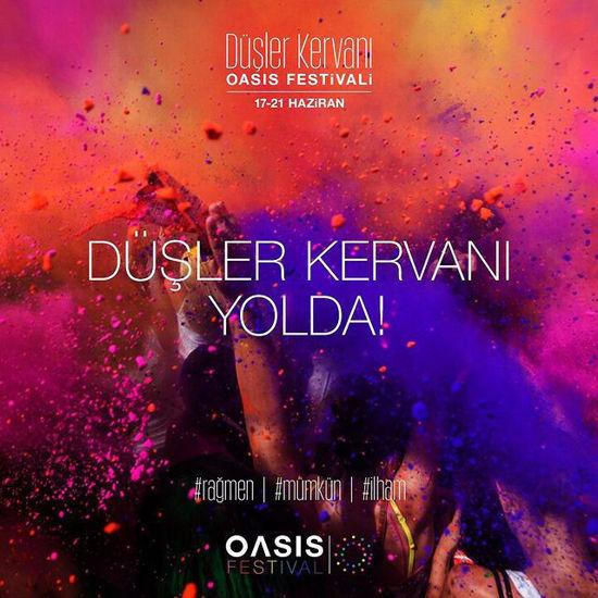 OASİS FESTİVALİ / Düşler Kervanı - Oasis Yoga Bomonti 17 Haziran | 21 Haziran 2021. ürün görseli